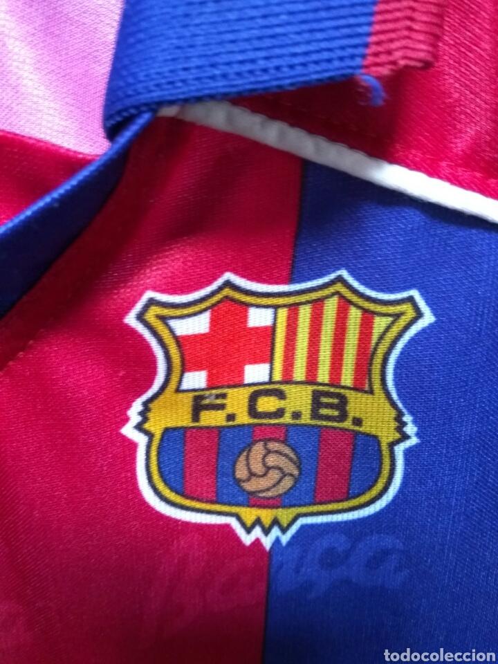 Coleccionismo deportivo: CAMISETA F C BARCELONA KAPPA TAMAÑO 10 NIÑO - Foto 3 - 79179413