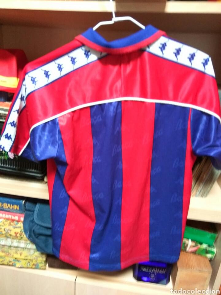 Coleccionismo deportivo: CAMISETA F C BARCELONA KAPPA TAMAÑO 10 NIÑO - Foto 4 - 79179413