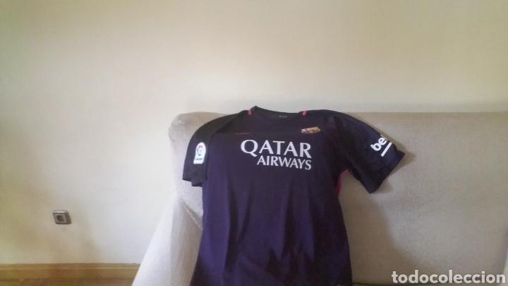 FC BARCELONA 2016 17.... SEGUNDA EQUIPACION (Coleccionismo Deportivo - Ropa  y fea75f668cae1