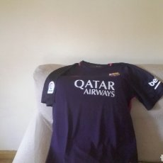 Coleccionismo deportivo: FC BARCELONA 2016 17.... SEGUNDA EQUIPACION. Lote 135855479