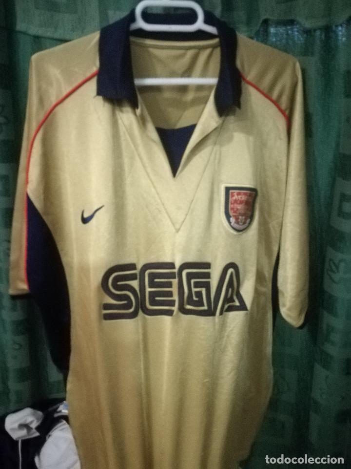 promo code f4e4d be904 ARSENAL SEGA Consola Vintage XL camiseta futbol football shirt fussball  trikot
