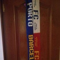 Collezionismo sportivo: FC BARCELONA PORTO HERTHA BERLIN SPARTA PRAHA BUFANDA SCARF FOOTBALL FUTBOL . Lote 136318578