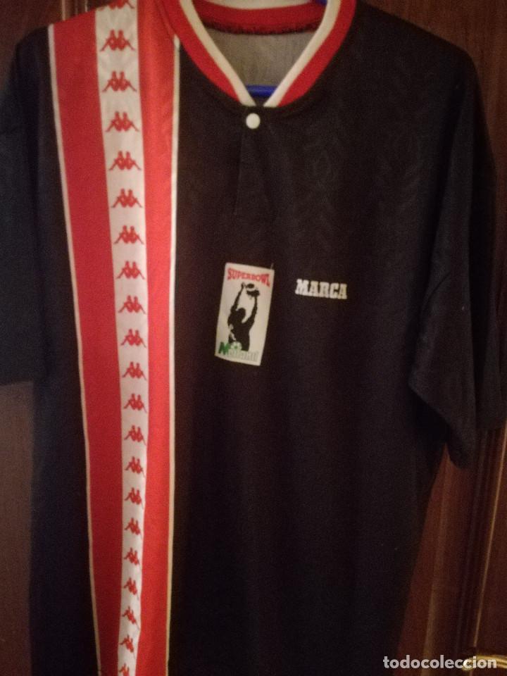ee6d1db56aeba LIGA MEILAND GENERICA ATHLETIC CLUB BILBAO FUTSAL RARE XL Camiseta futbol  football shirt segunda mano