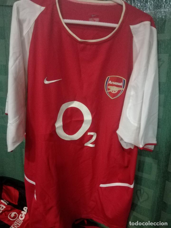 CESC FABREGAS DEBUT ARSENAL XL (dorsal mal estado Camiseta futbol football  shirt 1834bbefd7a