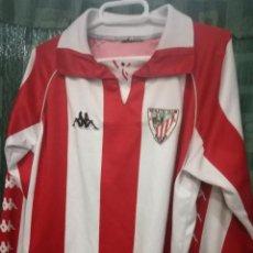 Coleccionismo deportivo: ATHLETIC CLUB BILBAO ALEVIN MATCH WORN XXS 8/10 CAMISETA FUTBOL FOOTBALL SHIRT. Lote 194268312