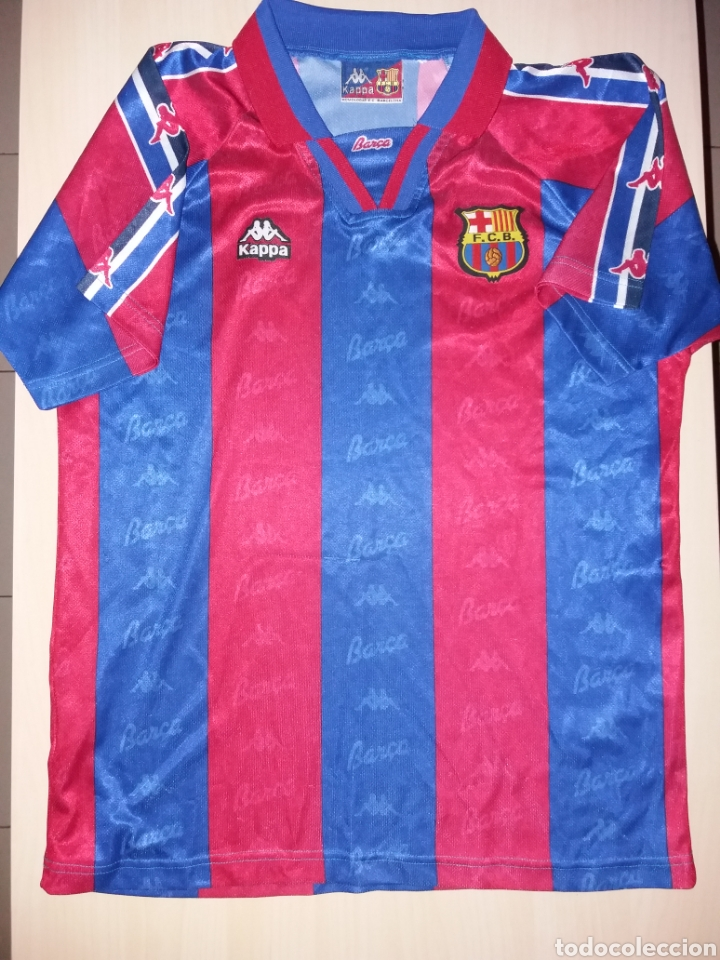 antigua camiseta fc barcelona - kappa - Comprar Camisetas de Fútbol ... 6aaff3b6d75