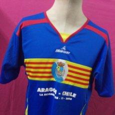 Coleccionismo deportivo: CAMISETA FUTBOL ORIGINAL MERCURY SELECCION ARAGONESA ARAGON. Lote 137327380