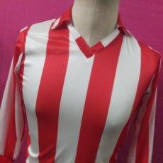 Coleccionismo deportivo: CAMISETA FUTBOL ORIGINAL MERCURY VINTAGE AT. MADRID, AT. BILBAO SIN USO TALLA PEQUEÑA. Lote 137329850