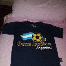 Coleccionismo deportivo: CAMISA BOCA JUNIORS ARGENTINA . Lote 137343794
