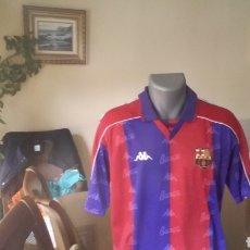 Coleccionismo deportivo: FC BARCELONA LOTE HISTÓRICO - 3 SHIRTS ESPECIALES. Lote 137624769