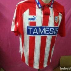 Coleccionismo deportivo: CAMISETA FUTBOL ATLETICO DE MADRID PUMA TAMESIS Nº11 TALLA XL ( RARA DE CONSEGUIR ). Lote 138015630