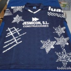 Coleccionismo deportivo: CAMISETA FUTBOL LUANVI ( CONSTRUCCIONES JESMICON, S.L. PONFERRADA ) ANTIGUA. Lote 138291710
