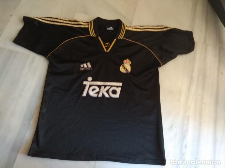 CAMISETA REAL MADRID TEKA ADIDAS TALLA 16 (Coleccionismo Deportivo - Ropa y Complementos - Camisetas de Fútbol)