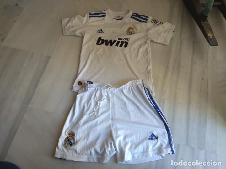 CAMISETA Y PANTALON REAL MADRID RONALDO 7 TALLA 14 (Coleccionismo Deportivo - Ropa y Complementos - Camisetas de Fútbol)