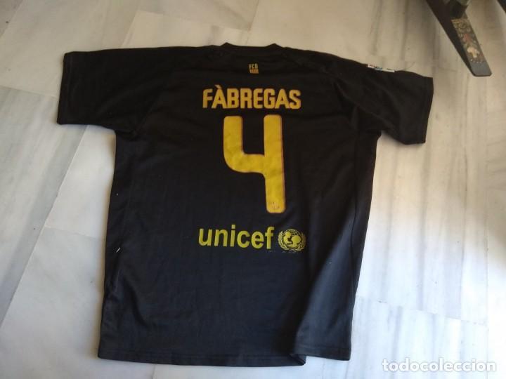 Coleccionismo deportivo: CAMISETA F.C BARCELONA FABREGAS TALLA XL - Foto 2 - 138942482