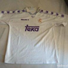 Coleccionismo deportivo: CAMISETA REAL MADRID KELME TEKA TALLA L. Lote 143158742