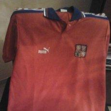 Coleccionismo deportivo: REPUBLICA CHECA - CAMISETA OFICIAL 1996. Lote 139113846
