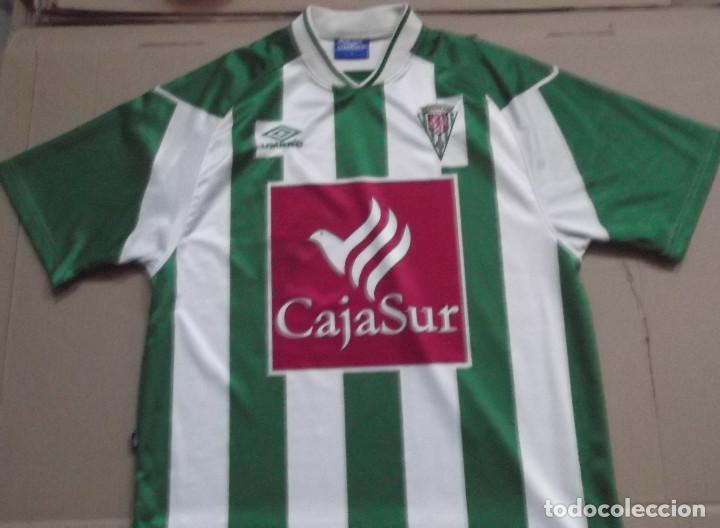 CAMISETA FUTBOL ORIGINAL UMBRO CD CORDOBA CAJASUR (Coleccionismo Deportivo  - Ropa y Complementos - Camisetas 92b73978e54