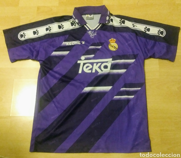 d1aff7b9d665c CAMISETA REAL MADRID TEMPORADA 94-95. NÚMERO 10 (Coleccionismo Deportivo -  Ropa y