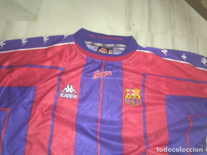 Coleccionismo deportivo: CAMISETA F.C. BARCELONA KAPPA TALLA XL - Foto 2 - 140262746