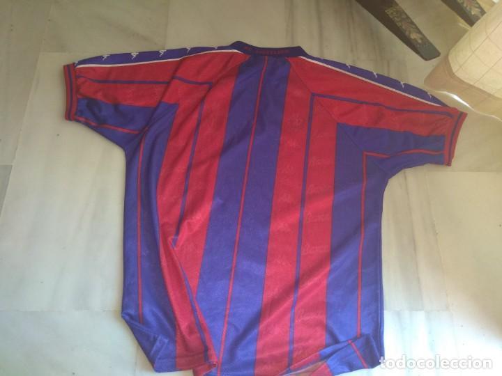 Coleccionismo deportivo: CAMISETA F.C. BARCELONA KAPPA TALLA XL - Foto 3 - 140262746