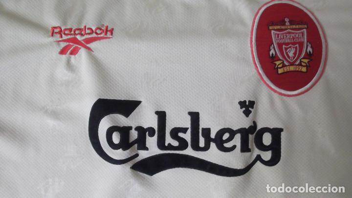 9987966a7e4 Coleccionismo deportivo  CAMISETA FUTBOL ORIGINAL REEBOK OFICIAL LIVERPOOL  CARLSBERG - Foto 2 - 140499414