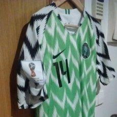 Coleccionismo deportivo: CAMISETA CASA SELECCIÓN NIGERIA MUNDIAL 2018 IHEANACHO TALLA L. Lote 140506890