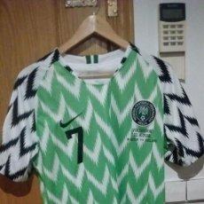 Coleccionismo deportivo: CAMISETA CASA SELECCIÓN NIGERIA MUNDIAL 2018 MUSA TALLA L. Lote 140507414