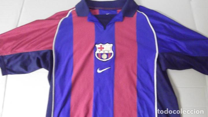 CAMISETA FUTBOL ORIGINAL NIKE FC BARCELONA BARCA JUGADOR SAVIOLA  (Coleccionismo Deportivo - Ropa y Complementos 3b05b3b837a