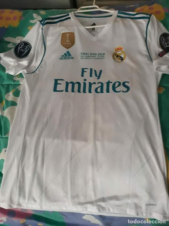 14fd23cf239ed CAMISETA OFICIAL MATCH WORN REAL MADRID 2018 GARETH BALE FINAL CHAMPIONS.  (Coleccionismo Deportivo -