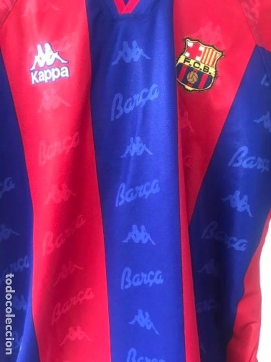 Sports collectibles  CAMISETA KAPPA DE JOSÉ MARI BAKERO FÚTBOL CLUB  BARCELONA TEMPORADA 93-94 0185e56ce2e8d