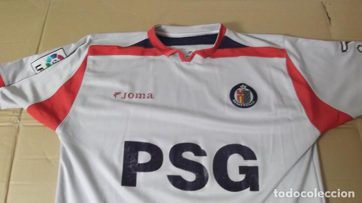 8323b881ab 5 fotos CAMISETA FUTBOL ORIGINAL JOMA OFICIAL GETAFE SAD PSG (Coleccionismo  Deportivo - Ropa y Complementos ...