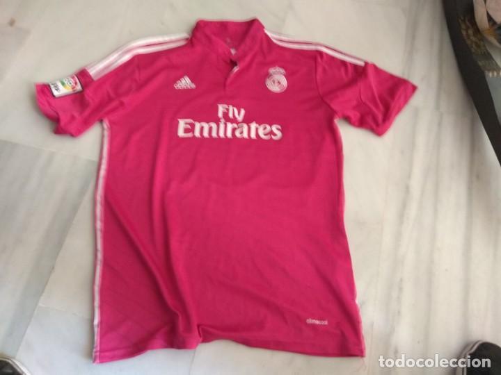 CAMISETA REAL MADRID JAMES COLOR ROSA (Coleccionismo Deportivo - Ropa y Complementos - Camisetas de Fútbol)