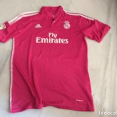 Coleccionismo deportivo: CAMISETA REAL MADRID JAMES COLOR ROSA. Lote 142420010