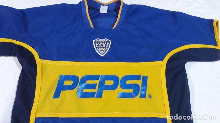 low priced b8c74 78248 camiseta vieja retro fantasia Boca juniors consultar stock