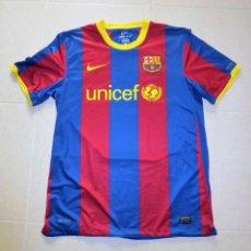 Coleccionismo deportivo: CAMISETA F.C. BARCELONA -BARÇA - UNICEF - TALLA L - TEMPORADA 2010 / 11. Lote 143202698