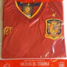 Coleccionismo deportivo: CAMISETA DE ESPAÑA RFEF PREVIA EUROCOPA 2012. TALLA M, NUEVA CON ETIQUETAS, NUNCA ABIERTA.. Lote 143276342