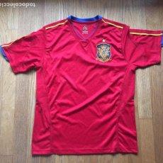 Coleccionismo deportivo: CAMISETA SELECCION ESPAÑOLA PRODUCTO OFICIAL, BANESTO. Lote 143585238