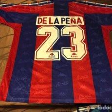 "Coleccionismo deportivo: CAMISETA SHIRT MAGLIA TRIKOT FC BARCELONA ""23"" DE LA PEÑA. Lote 143851188"