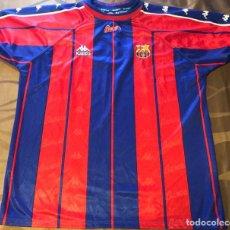 Coleccionismo deportivo: CAMISETA SHIRT TRIKOT MAGLIA FC BARCELONA KAPPA ANTIGUA. Lote 143851412