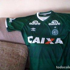 Coleccionismo deportivo: CAMISETA CHAPECOENSE 2016 . EQUIPO FAMOSO DE BRASIL POR.....TERRIBLE. Lote 143936990