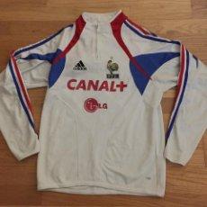 Colecionismo desportivo: SUDADERA SELECCION FRANCESA CANAL +. LG VER FOTOS. Lote 144060546