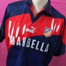 Sports collectibles - Rara camiseta futbol original PUMA ATLETICO MADRID MARBELLA talla L - 144390918