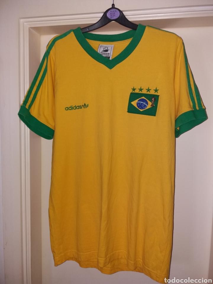 Antigua camiseta ADIDAS, Francia 98 BRASIL