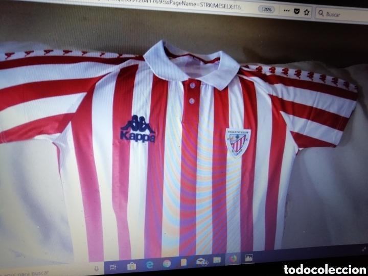 camiseta at. bilbao. años 96 al 98. talla l. im - Comprar Camisetas ... f61c53bfe1360