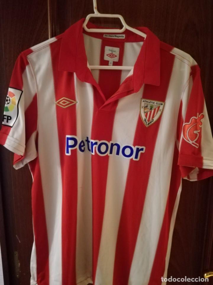 sports shoes 21414 dcf7c Athletic Club Bilbao M camiseta futbol football shirt