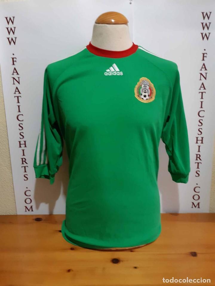 CAMISETA FUTBOL SELECCION MEXICO ADIDAS AÑO  (Coleccionismo Deportivo -  Ropa y Complementos - Camisetas 96daac1907444