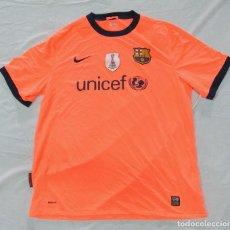 Coleccionismo deportivo: CAMISETA DE ENTRENAMIENTO FC BARCELONA UNICEF FIFA WORLD CHAMPIONS 2009, XL , NUEVA. Lote 145108906