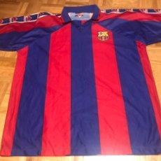 Coleccionismo deportivo: CAMISETA FÚTBOL CLUB BARCELONA KAPPA BARCA 9 RONALDO TALLA XL ROGER'S. Lote 145427774