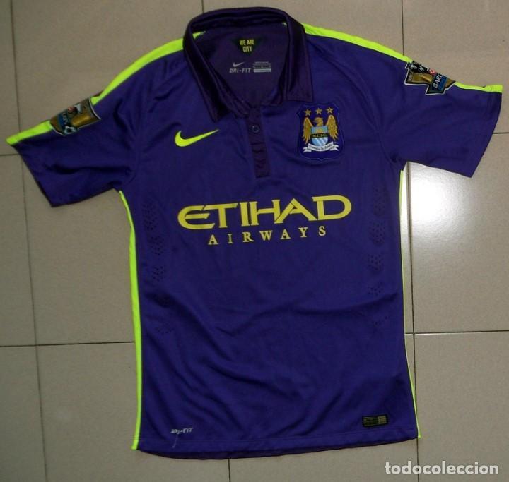 compre los más vendidos atesorar como una mercancía rara numerosos en variedad Camiseta shirt fútbol football manchester city - Sold at Auction ...
